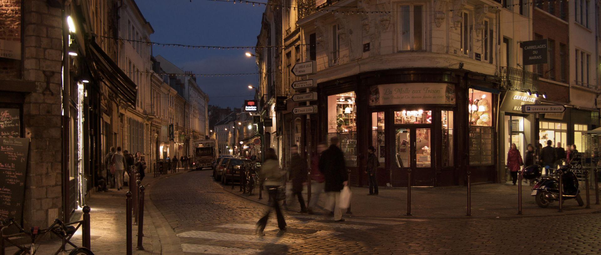 Le photojournal de jean miaille en octobre 2009 - Magasin meuble lille rue esquermoise ...